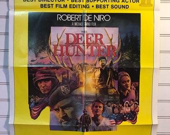 Original The Deer Hunter Academy Award version Movie Poster One-Sheet 1978