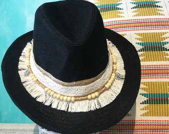 Black Hat |Winter collection |Hut |Sombrero |Chapeau |Cappello |Hata |Hatt |Kapelusz |Christmas gifts |Christmas ideas |Handmade |Custom