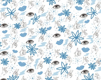 """Body Elements Wrapping Paper (20"""" x 29"""" Sheets)"""