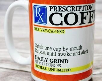 Coffee Mug, Gift for Coffee Lover, Coffee Lover Gift, Mug, Morning Coffee Mug