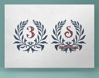 Wreath 01 - hand drawn vector clip art. Vintage wreath, floral wreath, hand drawn wreath, rustic wreath, floral frame, nature wreath