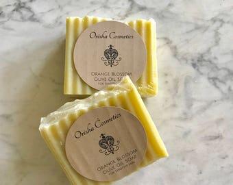 Orange Blossom Olive Oil Soap