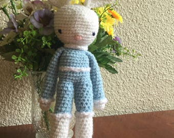 Cuddly amigurumi Bunny crochet