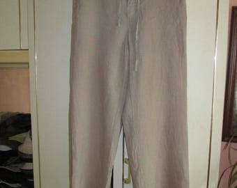 Hugo Boss linen trousers