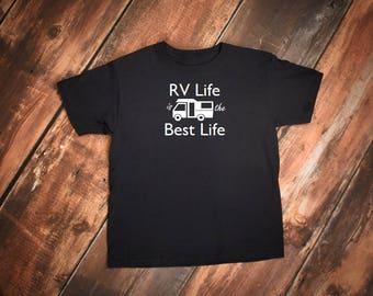 RV Life tshirt, RV Life is the Best Life shirt, Camper shirt, Camping shirt, RV tshirt, rv shirt, Traveler shirt, Adventure tshirt, camper