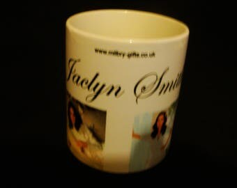 Jaclyn Smith from Charlies Angels Mug