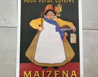"Vintage French Poster for ""Maizena"" Corn 1701184"