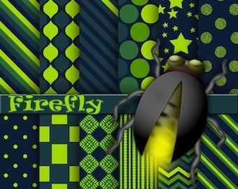 Firefly digital paper, background, scrapbook