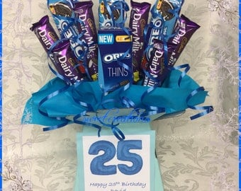 oreo biscuit and chocolate bouquet free postage