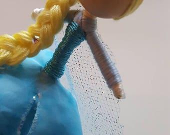 Snow Queen (ELSA) inspired Flower Fairy