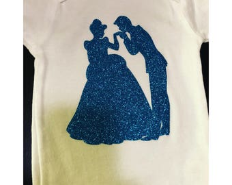 Cinderella and Prince Charming top