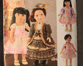 Simplicity 8112   Elaine Heigl Designs   18 in Doll Clothes