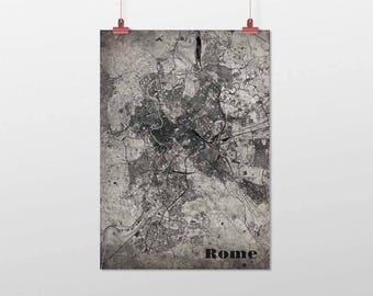 ROME-Din A4/DIN A3-print-old-school