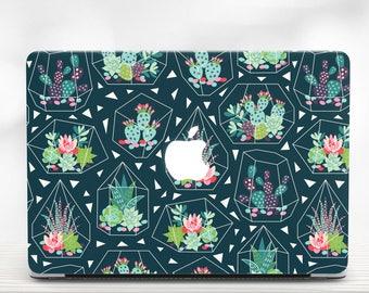 Macbook Air Case Cactus Macbook 15 Cover Case Macbook Pro 13 Mac Pro 15 Case For Macbook Air 13 Cactus Macbook Case Geometrical Macbook Air