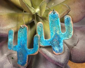 Desert Love Cactus Earrings