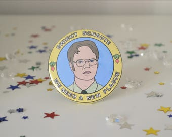 Dwight Schrute - 58mm - Badge