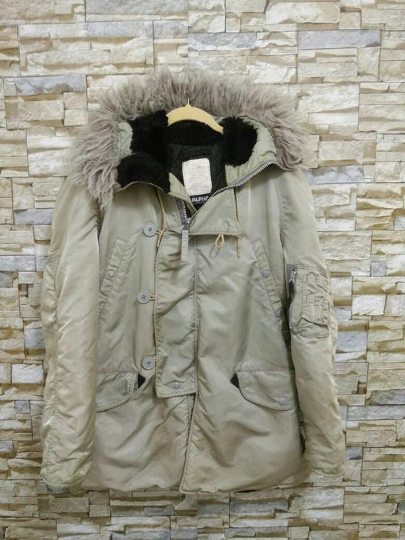 Vintage n 3b winter parka