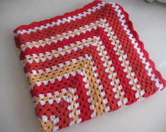 blanket or throw crocheted