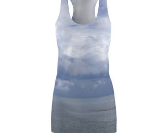 WomenS  Racerback Dress Beachy