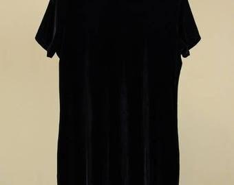 Best Summer Sale J. Crew Black Velvet Dress
