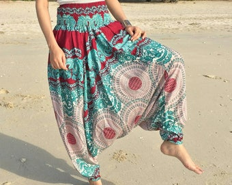 Harem Pants Women,Boho Pants,Trouser Pants,Yoga Pants Baggy Pants,Gypsy Pants,Rayon Pants,Bohemian Pants,Music festival clothing,Hippie Pant