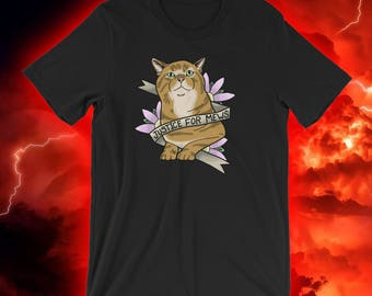 Stranger Things - Justice For Mews T-Shirt