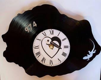 Vinyl 33 clock towers of la reunion island theme