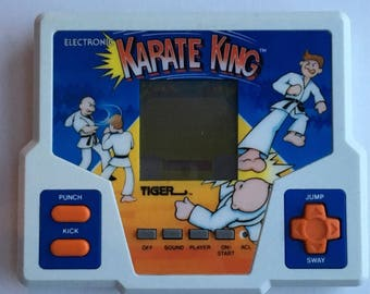 Karate King, Tiger Electronics, handheld video game, 1987.