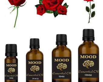 Rose (commercial) essential oil natural aromatherapy essential oils