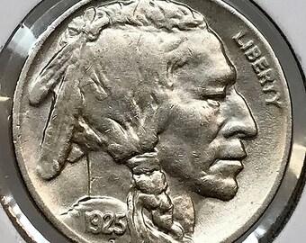 1925 S Buffalo Nickel - Choice BU / MS / Unc