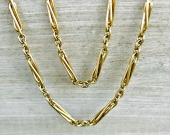 Heavy vintage gold chain
