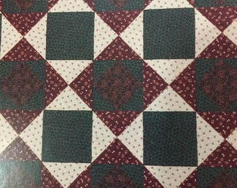 """Thimbleberries """"Waiting for Santa"""" Sew Big Quilts quilt pattern finished size 64"""" x 80"""" LJ 92267"""