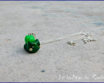 Bulbasaur Pokemon Fushigidane pendant necklace