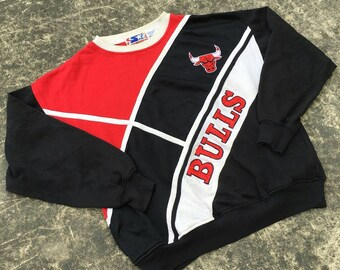 Rare CHICAGO BULLS Sweater by STARTER Authentic Vintage