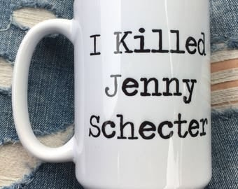 PRIDE SPECIAL! I killed Jenny Schecter L Word Cup // The L Word // Lesbian Gift // Funny Lesbian Gift // Lesbian Present // Lesbian Mug