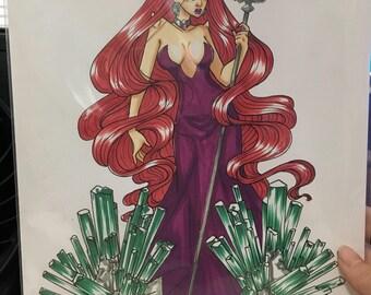 Queen Beryl marker sketch