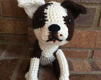 Custom pet, personalized crochet dog, look alike cat