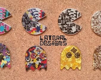Pacman Lotus Pin Set
