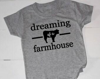 Farmhouse, Farm House, Tees, Farmhouse Tee, T-Shirt, Farmhouse T Shirt, Fixerupper, Fixer Upper