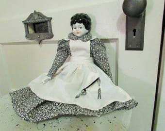vintage homestead porcelain doll