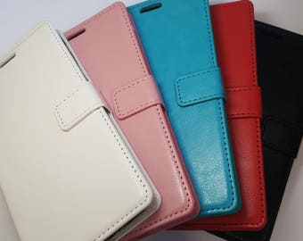 Blank HTC Desire 530 Wallet Phone Case with Strap for DIY project. Plain Mobile Phone Case for Decoration.