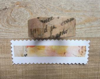 Tape 1.5 cm 7 m with retro pattern