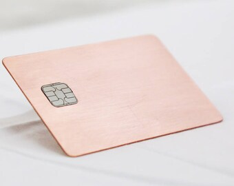 Rose Copper - Metallo Card®