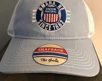 Union Pacific Snap Back Trucker Hat
