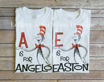 ABC...is for...Name Dr. Seuss shirt