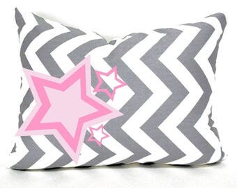 """Rockstar Girls Decorative Pillow Cover with Insert 12""""x24"""""""