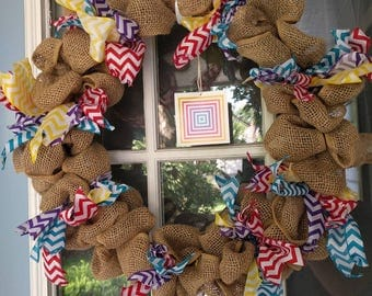 Lularoe door wreath