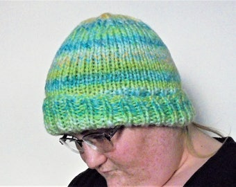 Chunky winter hat, beanie hat, hand knit hat, womens hat, beanie hat men, beanie hat women, winter hats for women, winter hats for men