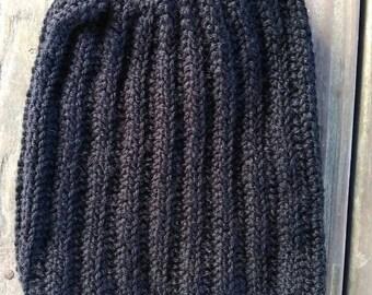 Black science march hat, black pussy hat, pussyhat, women's march hat, wool blend, acrylic, black, unity, resist, black pussyhat, feminism