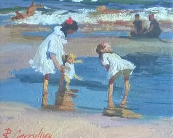 Сhildrens on the sea